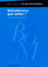 Bertrand Calenge - Bibliothécaire, quel métier ?.