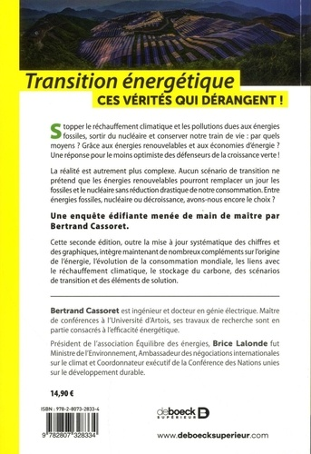 Transition énergétique. Ces vérités qui dérangent ! 2e édition