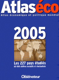 Bertrand Clare et  Collectif - Atlaséco 2005.