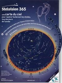 Bertrand d' Armagnac - Stelvision 365 - Une carte du ciel pour repérer facilement les étoiles, tous les jours de l'année.