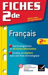 Bertrand Darbeau - Fiches Bac français 2de.