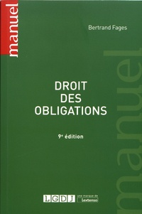 Bertrand Fages - Droit des obligations.