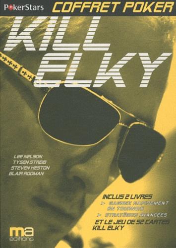 Bertrand Grospellier - Coffret pocker Kill Elky - En 2 volumes. 1 Jeu