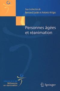 Bertrand Guidet et Antonio Artigas - Personnes âgées et réanimation.