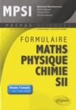 Bertrand Hauchecorne - Formulaire MPSI mathématiques physique-chimie SII.