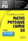 Bertrand Hauchecorne et Bertrand Beaufils - Formulaire PCSI-MPSI-PTSI PSI, mathématiques, physique-chimie, SII.