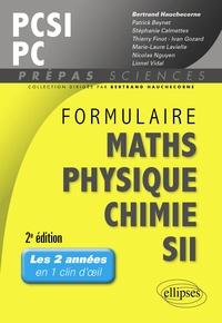 Formulaire PCSI/PC, mathématiques, physique, chimie, SII (1er semestre).pdf