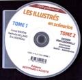 Lionel Baudin et Nathalie Billand - Les illustrés en scénarios 2de Bac Pro Gestion-Administration - Tomes 1 et 2 professeur. 1 DVD