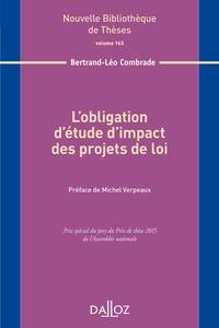 Histoiresdenlire.be L'obligation d'étude d'impact des projets de loi Image