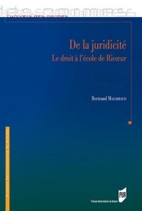 De la juridicité - Le droit à lécole de Ricoeur.pdf