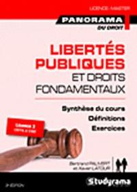 Bertrand Pauvert et Xavier Latour - Libertés publiques et droits fondamentaux.