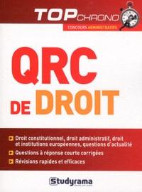 Bertrand Pauvert et Florence Nicoud - QRC de droit.