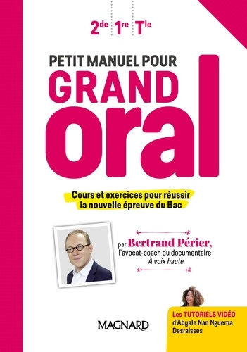 Petit Manuel Pour Grand Oral 2de 1re Tle Manuel Eleve Grand Format