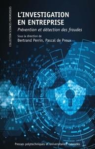 Deedr.fr L'investigation en entreprise - Prévention et détection des fraudes Image