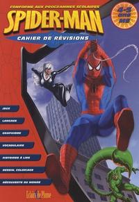 Bertrand-Pierre Echaudemaison et Christine Hoebeke - Cahier de révisions Spider-Man MS - 4-5 ans.