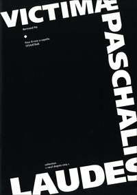 Bertrand Plé et Nicole Corti - Victimæ Paschalis Laudes - partition pour 8 voix a cappella.