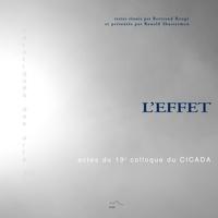 Bertrand Rougé et Ronald Shusterman - L'effet - Actes du 19e colloque du CICADA.