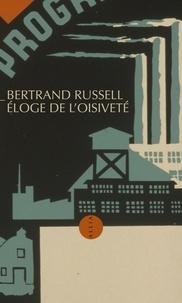 Eloge de l'oisiveté - Bertrand Russell pdf epub