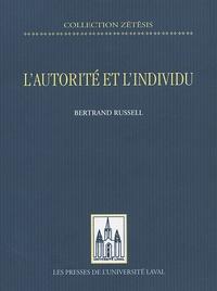 Bertrand Russell - L'autorité et l'individu.
