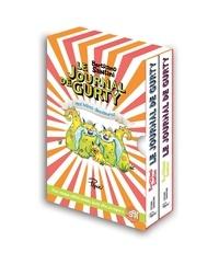 Bertrand Santini - Le journal de Gurty  : Coffret en 2 volumes - Vacances chez Tête de fesses ; Mes bébés dinosaures.