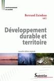 Bertrand Zuindeau - Développement durable et territoire.