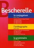 Bescherelle - La conjugaison pour tous ; L'orthographe pour tous ; La grammaire pour tous - Coffret 3 volumes.