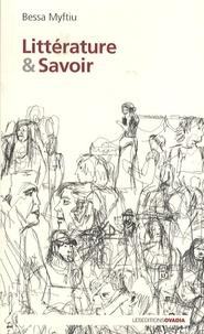 Bessa Myftiu - Littérature et Savoir.