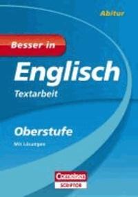 Besser in Englisch - Textarbeit Oberstufe.