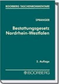 Bestattungsgesetz Nordrhein-Westfalen.