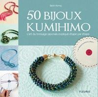 Beth Kemp - 50 bijoux kumihimo - L'art du tressage japonais expliqué étape par étape.