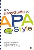 Beth M. Schwartz et R. Eric Landrum - An EasyGuide to APA Style.