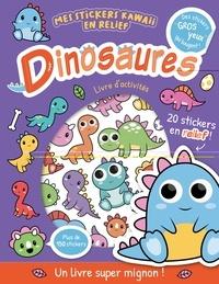 Bethany Carr - Dinosaures - Livre d'activité. Avec 20 stickers en relief !.