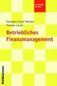 Betriebliches Finanzmanagement.