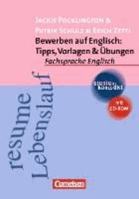 Bewerben auf Englisch: Tipps, Vorlagen und Übungen. Mit CD-ROM.