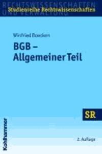 BGB - Allgemeiner Teil.