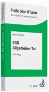 BGB Allgemeiner Teil.
