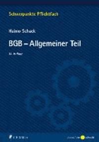 BGB-Allgemeiner Teil.