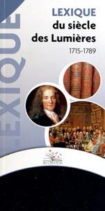 BH Création - Lexique du siècle des Lumières (1715-1789).