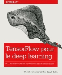 Bharath Ramsundar et Reza Bosagh Zadeh - TensorFlow pour le deep learning - De la régression linéaire à l'apprentissage par renforcement.