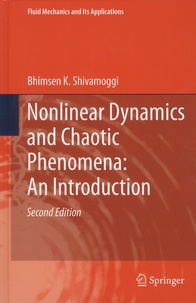 Nonlinear Dynamics and Chaotic Phenomena: An Introduction - Bhimsen-K Shivamoggi |