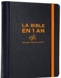 Bibli'O - La Bible en 1 an - En Français Courant. Avec les livres deutécanoniques.