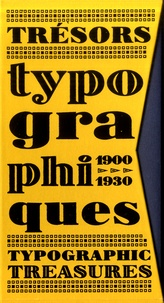Bibliomane - Trésors typographiques 1900-1930.