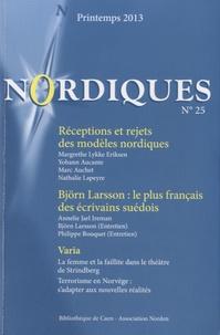Eric Eydoux - Nordiques N° 25, Printemps 201 : Réceptions et rejets des modèles nordiques.