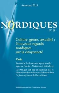 Eric Eydoux - Nordiques N° 28, automne 2014 : Culture, genre, sexualité - Nouveaux regards nordiques sur la citoyenneté.