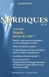 Yohann Aucante - Nordiques N° 32, automne 2016 : Islande : sortie de crise ?.