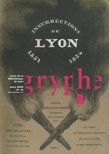 Jeremy Popkin et Ludovic Frobert - Gryphe N° 10, Mars 2005 : .
