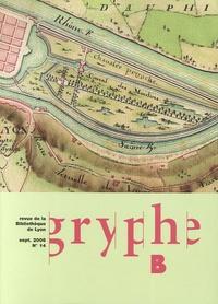 Stéphane Blond et Dominique Varry - Gryphe N° 14, Septembre 200 : .