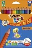 BIC CONTE - Pochette de 18 crayons de couleur Evolution Bic Kids