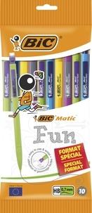 BIC CONTE - Porte-mines Bic Matic Fun x10