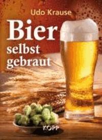 Bier selbst gebraut.